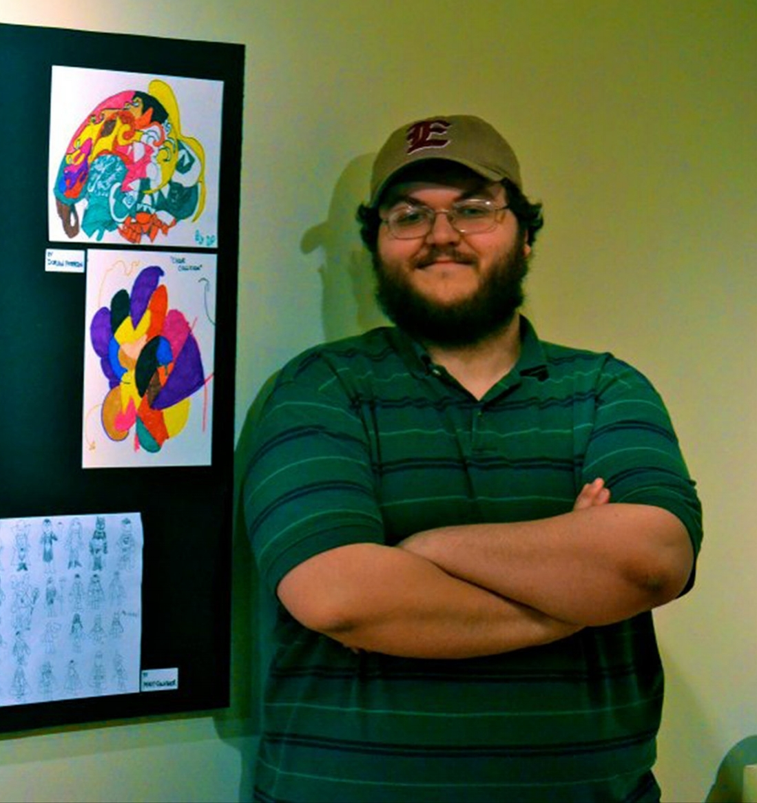 FRAC Gallery show about the artist display update - 11-12-16.jpg