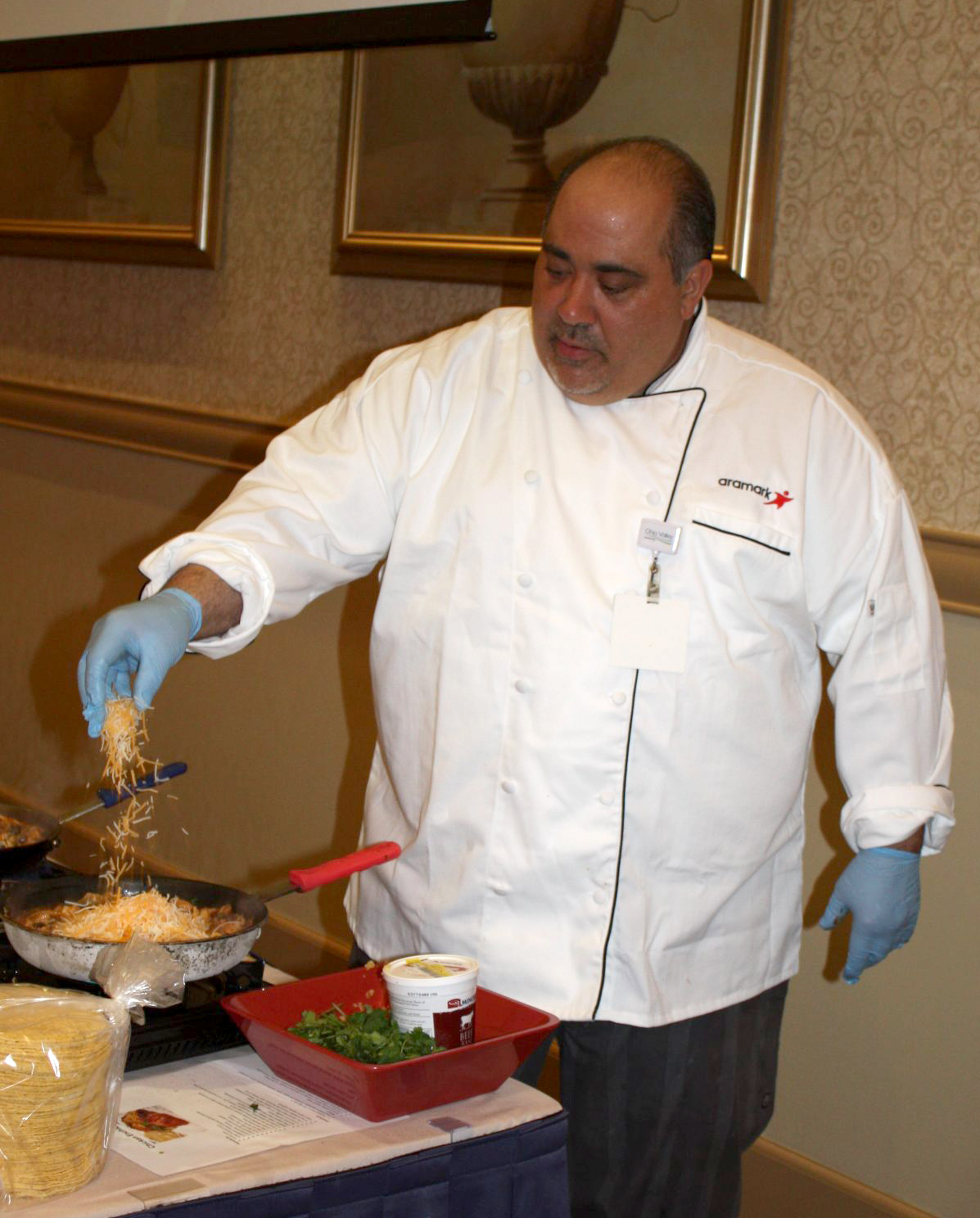 Chef Tom DeGori Of Ohio Valley Hospital