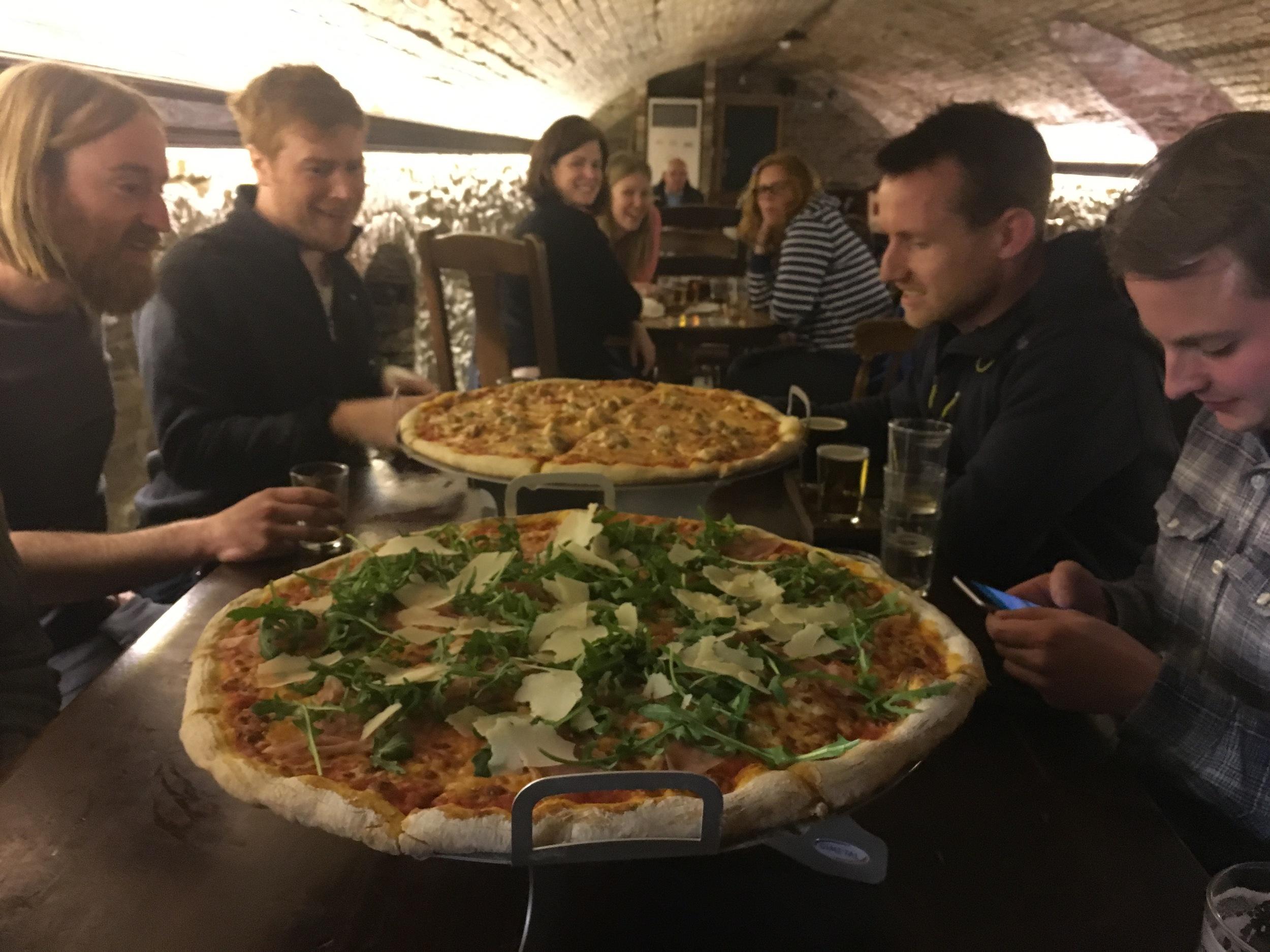 "Any 20"" sharing pizza at Beer Emporium"