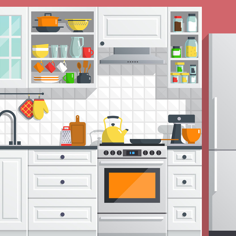 THE KITCHEN - Click below for Savings Opportunities:FaucetDishwasherRefrigeratorStove/CookTopMicrowave