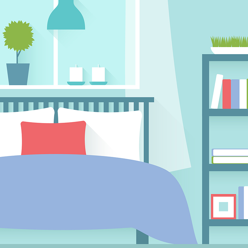THE BEDROOM - Click below for Savings Opportunities:Power StripLight SwitchPhone ChargerComputerWindow A/C