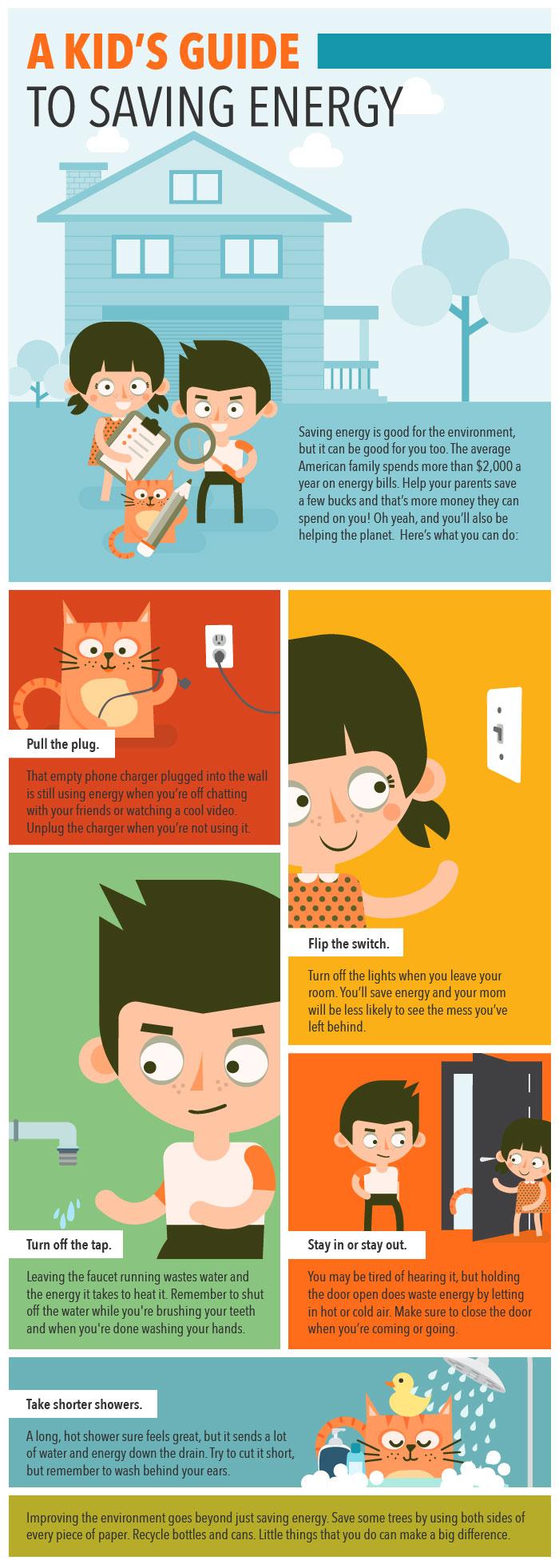 Kid's Guide to Saving Energy