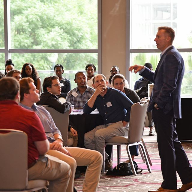More than 170 interns, 40 managers and mentors and various senior leaders from across the company had the opportunity to network at our Jumpstart Internship event in June. The program focuses on teaching interns more about the company including our core values, future plans and to provide some words of advice from top executives, like our CEO Leo Denault. #NationalInternDay