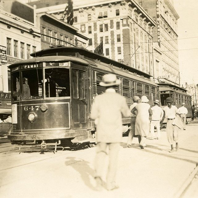 Our teams have been taking a deep dive into our archives and have found some great gems. Pictured is Canal Street in New Orleans in 1929. At the time, the heart of downtown was served by the streetcars of New Orleans Public Service, now known as Entergy New Orleans.