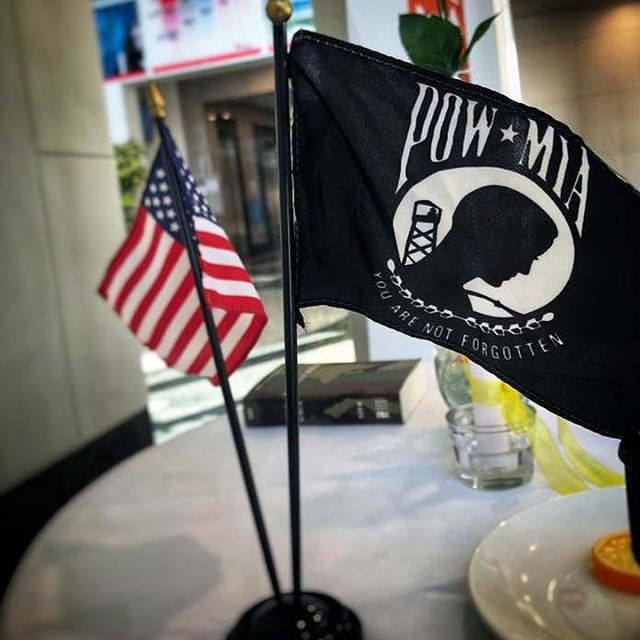 At several of our work locations, members of our veterans employee resource group have set symbolic POW/MIA remembrance tables in honor of National POW/MIA Recognition Day. In some locations, employees have also held short ceremonies to assemble the tables and honor those who have fought for our freedoms. ❤️ ❤️ ❤️