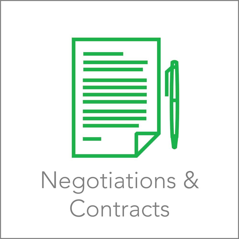 Services | Negotiations & Contracts