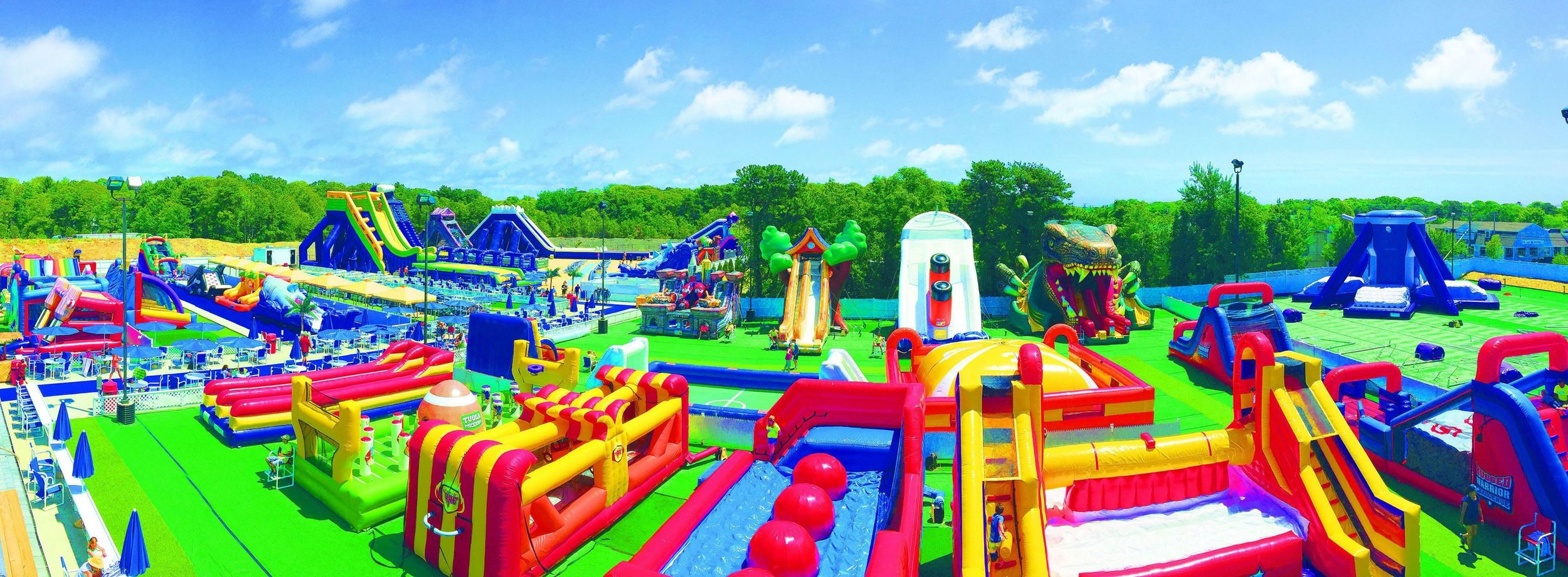 capecod inflatable park - yarmouth, ma