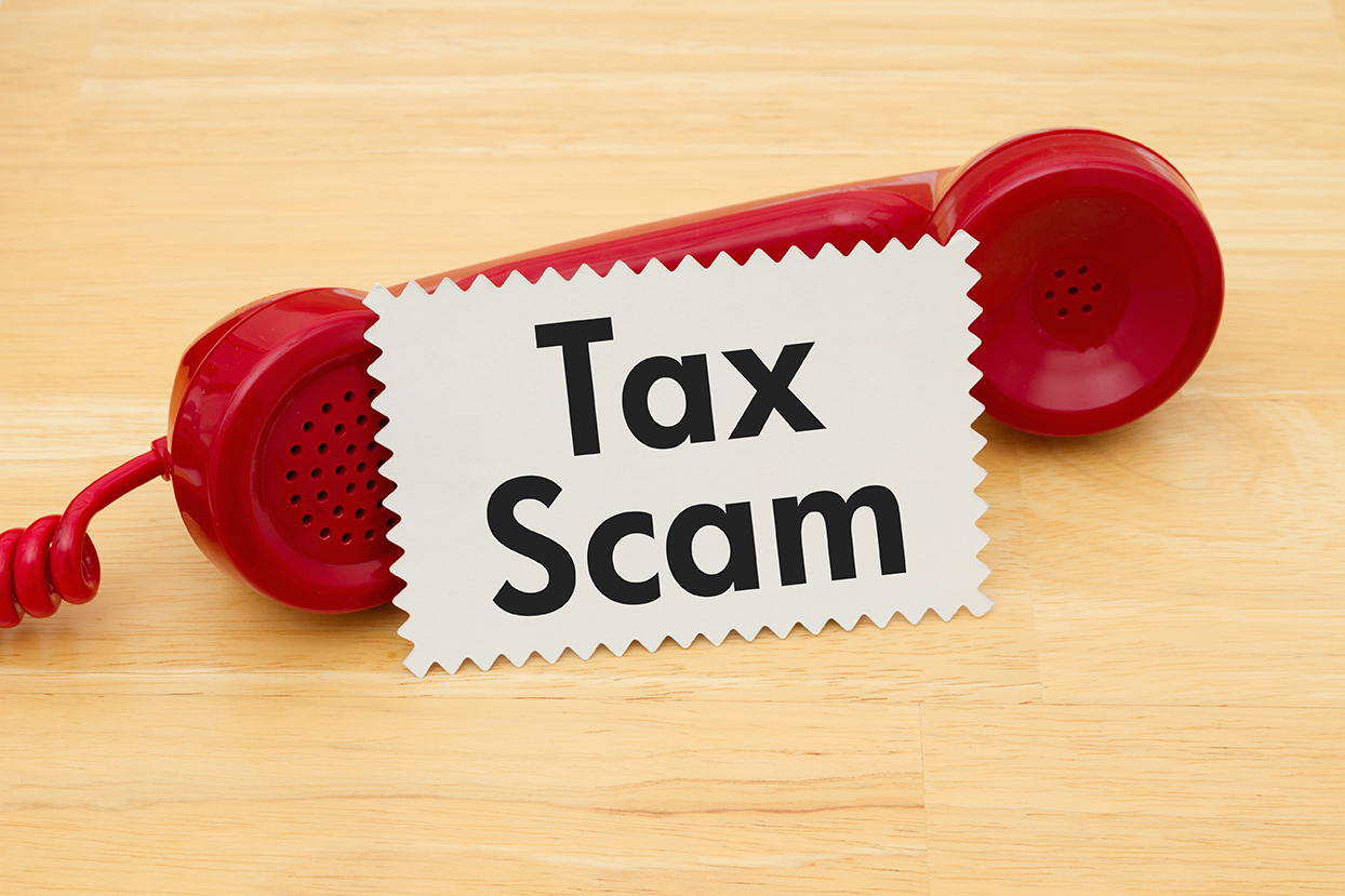 "Tax season is rapidly approaching                                                     …and along with the tax season come tax scams!   The top four tax scams are (1) identity theft, (2) phone fraud, (3) fake websites, and (4) ""free money"" refunds.   The IRS will NEVER call or email you.   If you think you have been the victim of identity theft, contact the IRS Identity Protection Specialized Unit at 800-908-4490  If you think you have been called by a person fraudulently claiming to be from the government, contact the IRS Protection Line at 800-829-1040 or use the Federal Trade Commission (FTC) Complaint Assistance at FTC.gov  If you receive a phishing email, forward that email to  phishing@irs.gov .  Finally, be on guard against any tax preparer that promises a ""free money"" tax refund, charges a large fee, or does not provide you with a copy of your tax return."