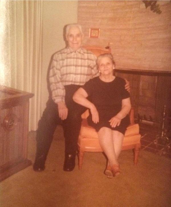 My great-grandma and great-grandpa
