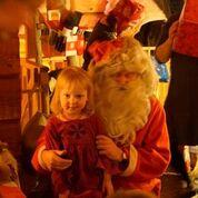 Joulupukki jännittää Ansaa