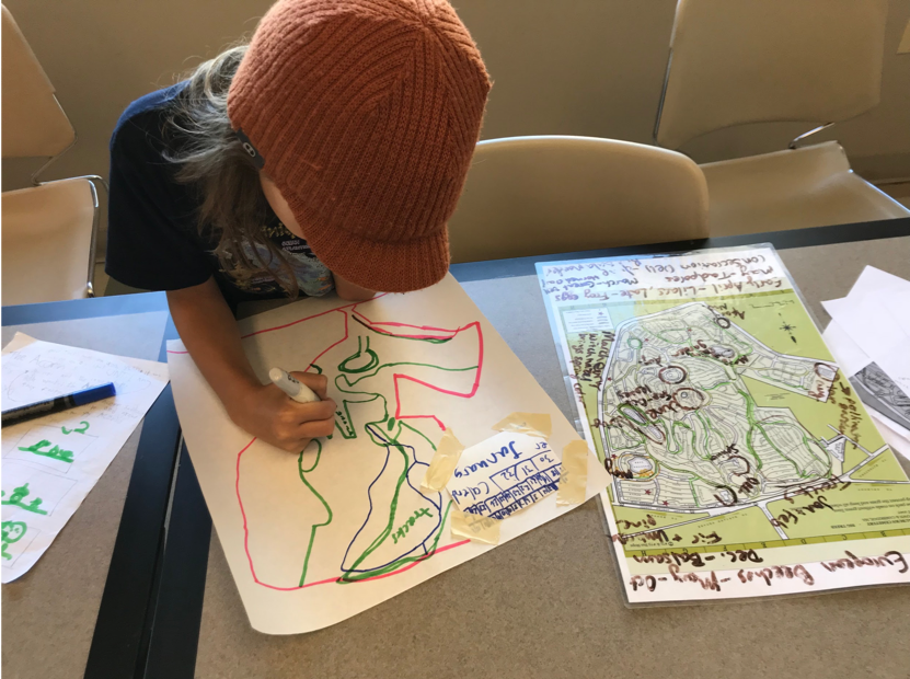 Student creates monthly maps for cemetery highlights
