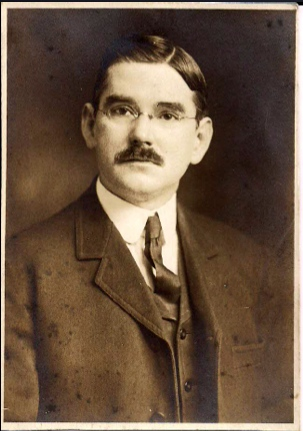This is a picture of George Folwell Lang, whom founded Lang Company in 1900.