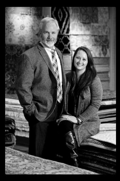 Tom Lang and his daughter, Kristin Lang