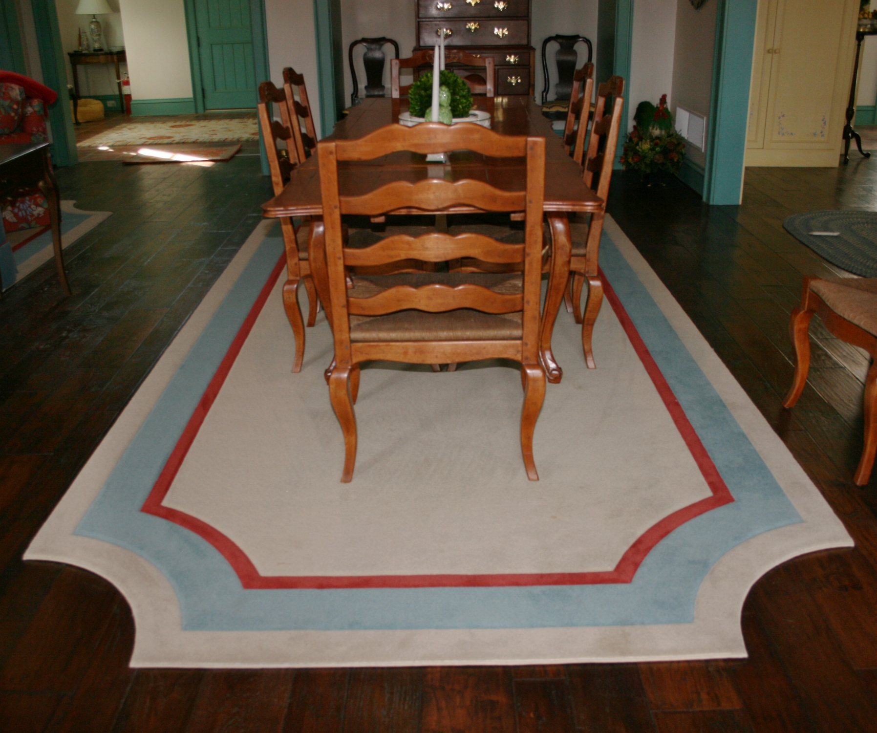 Custom Border Rugs