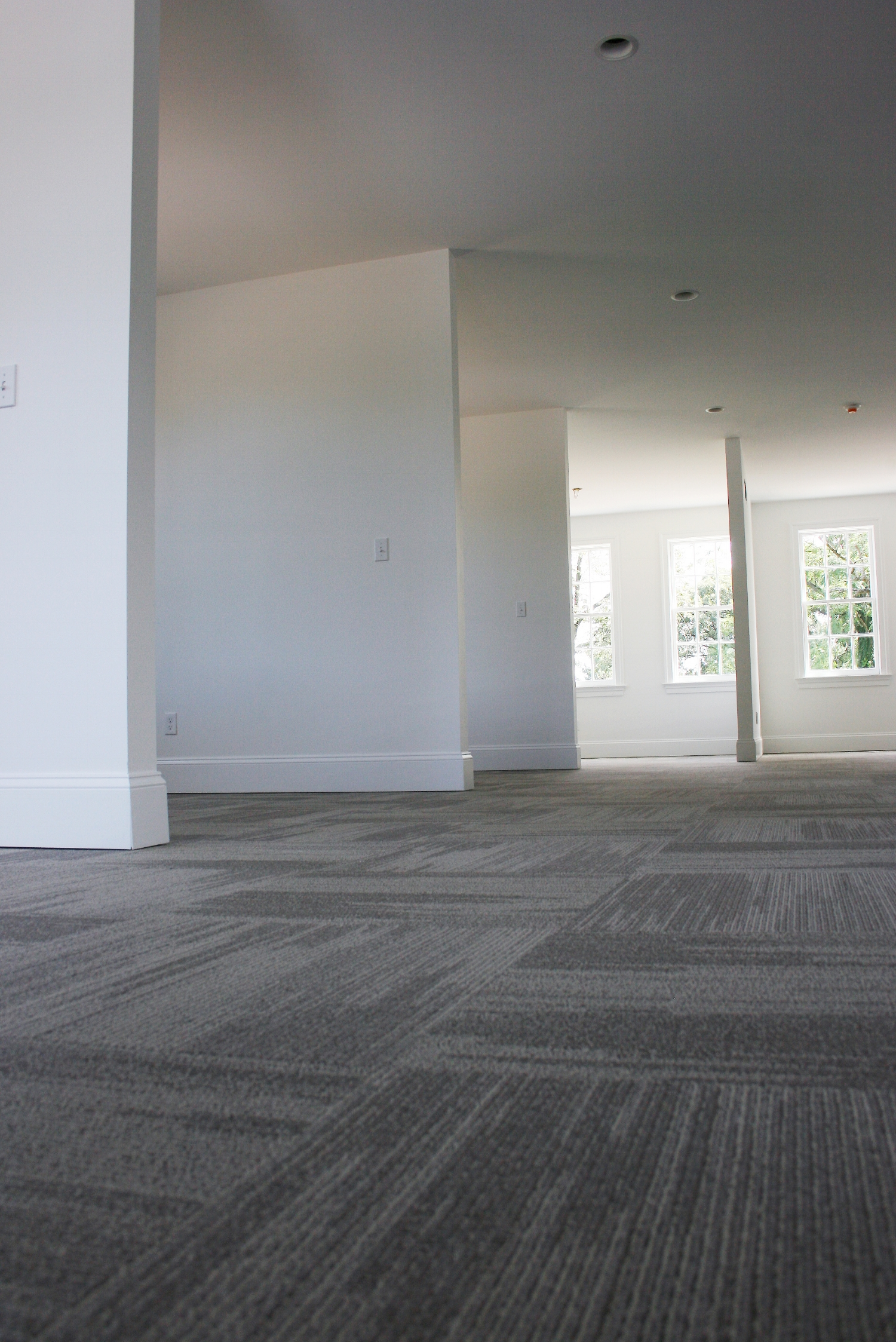 Commercial Carpet Tile Installation
