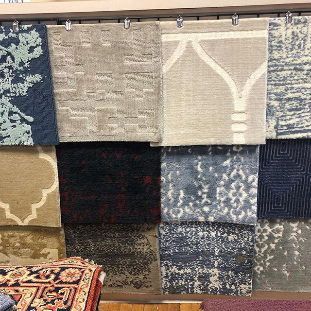 New products! We are loving this new collection of both stocked and custom rugs and carpet. Stop by our showroom to check out the samples! #newproducts #newproductalert #rugs #carpet #ruglove #contemporarystyle #interiordesign #interiors #custominterior . • • • #langcarpet #inwilm #inwilmington #netde #shopsmall #shopsmallbusiness #smallbiz #mainlineinteriordesign #phillystyle #delawarehomes #mainlinehomes