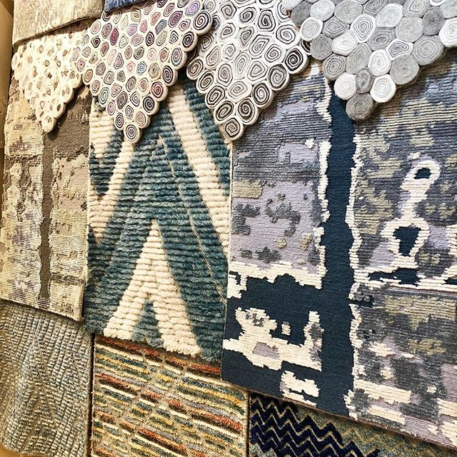 Loving these custom looks. Which is your favorite? #favoritethings #custominterior #customrugs #rugs #ruglife #ruglove #luxeinteriors #interiordesign #interiors #livebeautifully
