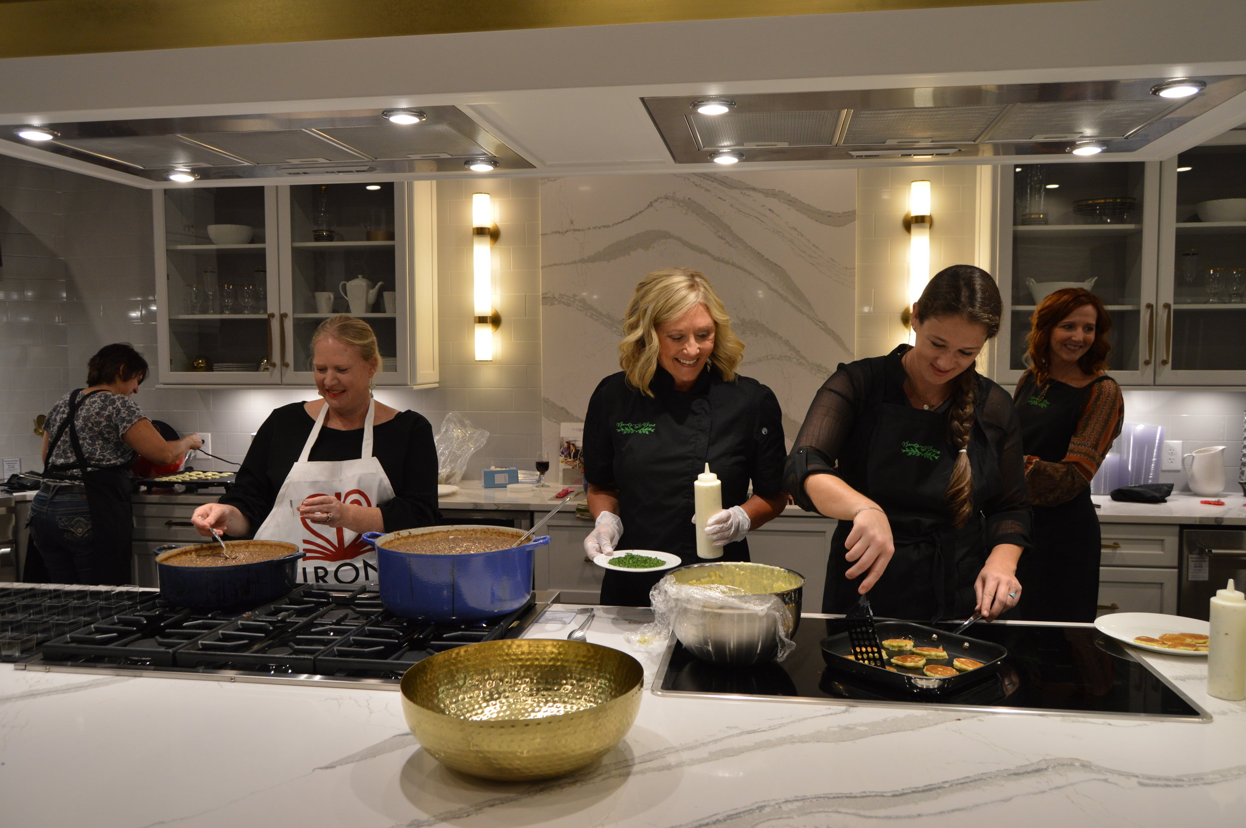 Shannon Smith, Beads and Basil 2017 Cooking for a Cause