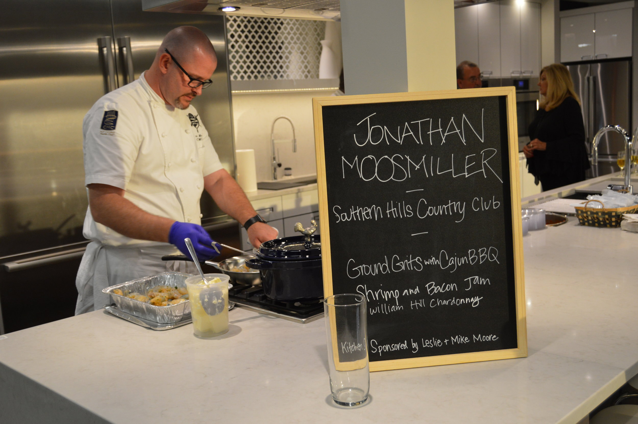 Jonathan Moosmiller, CMC, Southern Hills Country Club 2017 Coordinating Chef