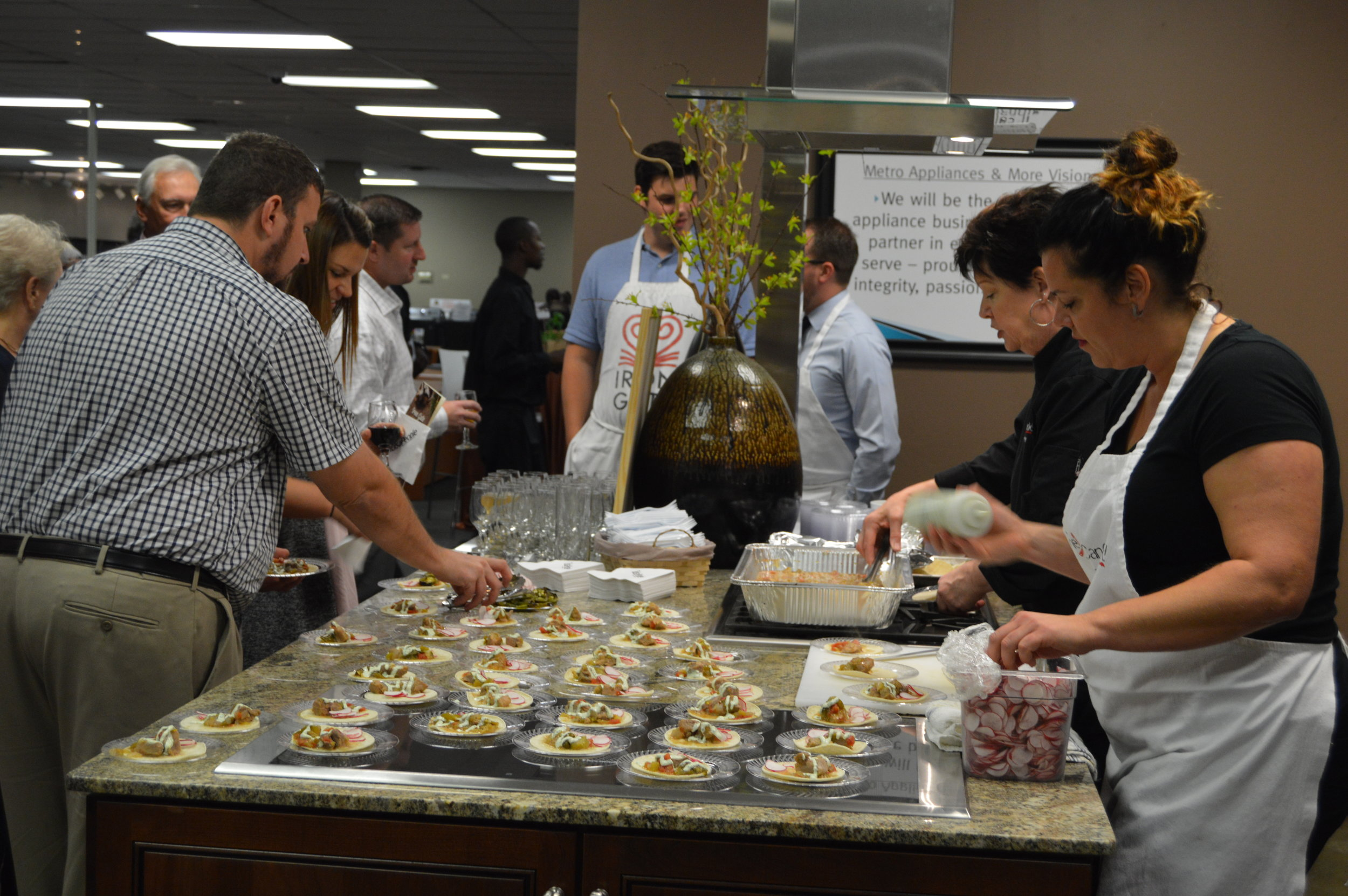 Candace Conley, The Girl Can Cook 2017 Cooking for a Cause