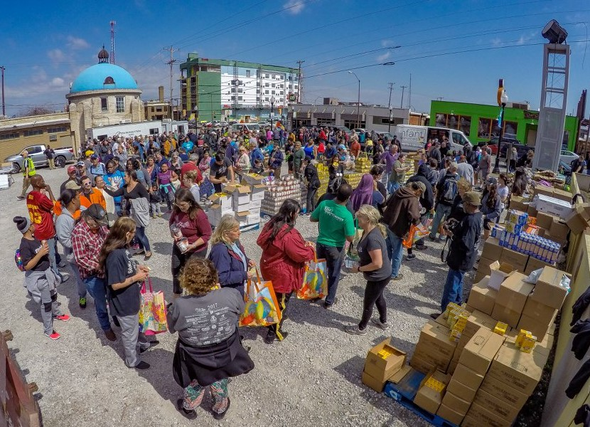 Lawyers Fighting Hunger, Spring 2018 Ham Distribution