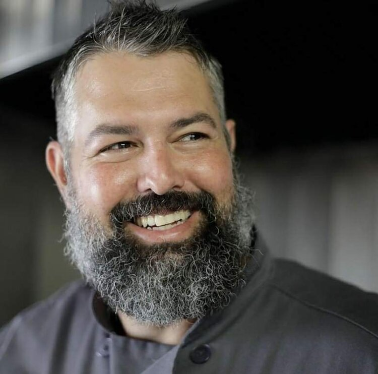Chef Joel Bein - Joel Bein is the owner of the Oklahoma Rub food truck. Known for fusion BBQ, Chef Joel is a regular at Cooking for a Cause.