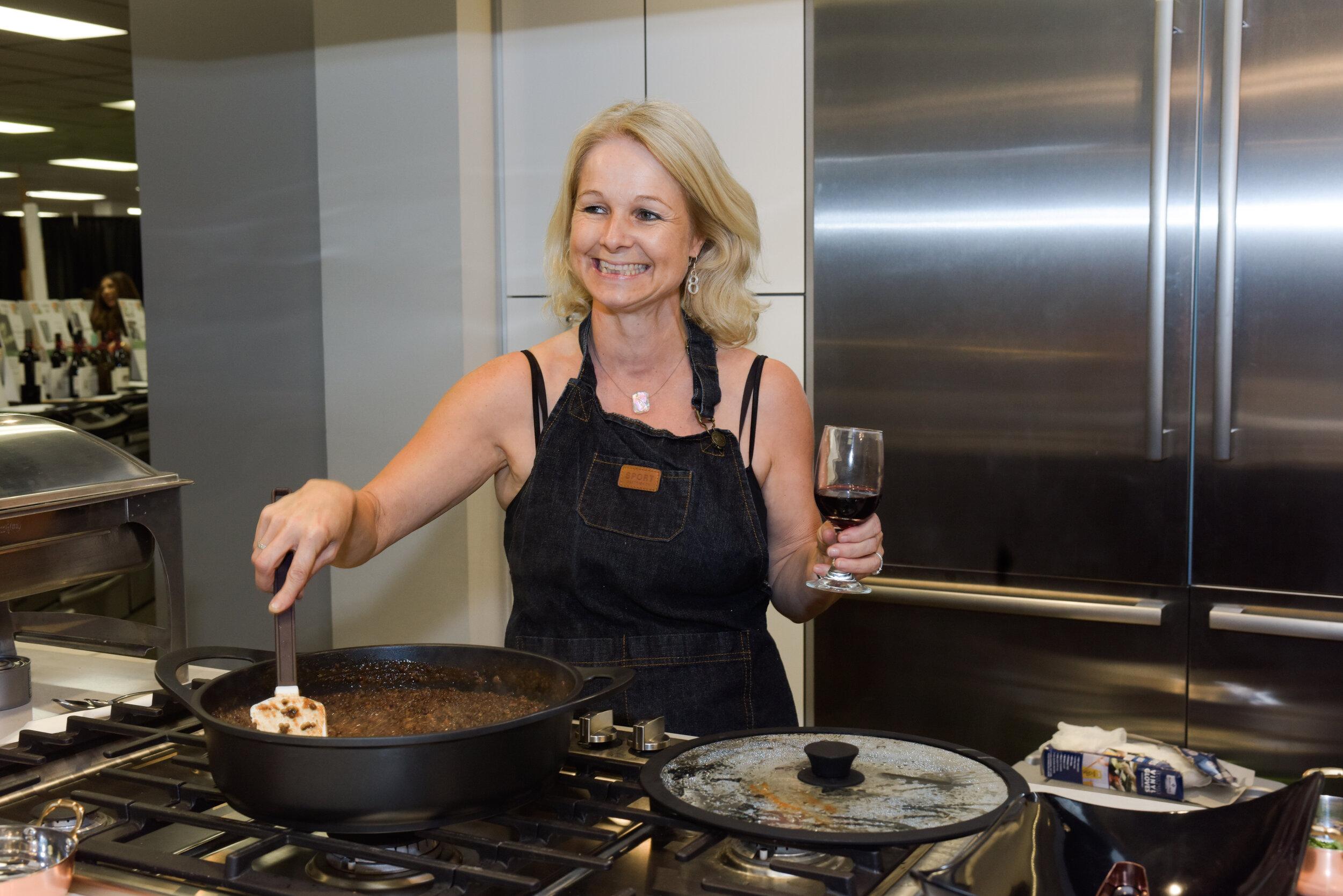 Chef Miranda Kaiser - Owner and Chef of Laffa Medi-Eastern Restaurant and Bar, Miranda