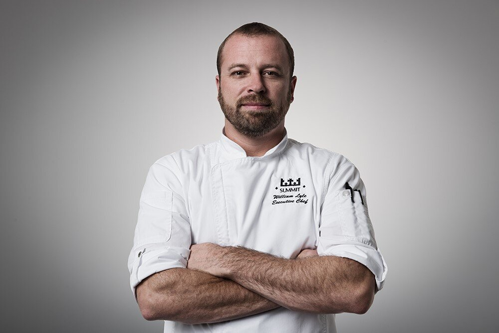 Chef William Lyle - Executive Chef at Tulsa's most distinctive experience city club, The Summit Club. Chef William has years of restaurant experience and promotes having a healthy lifestyle with cooking. Come taste his take on healthy substitute secrets.