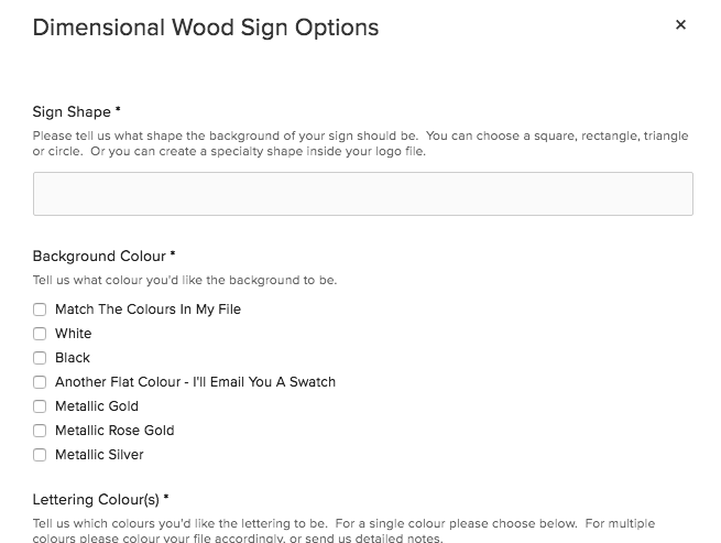 How To Order A Custom Sign