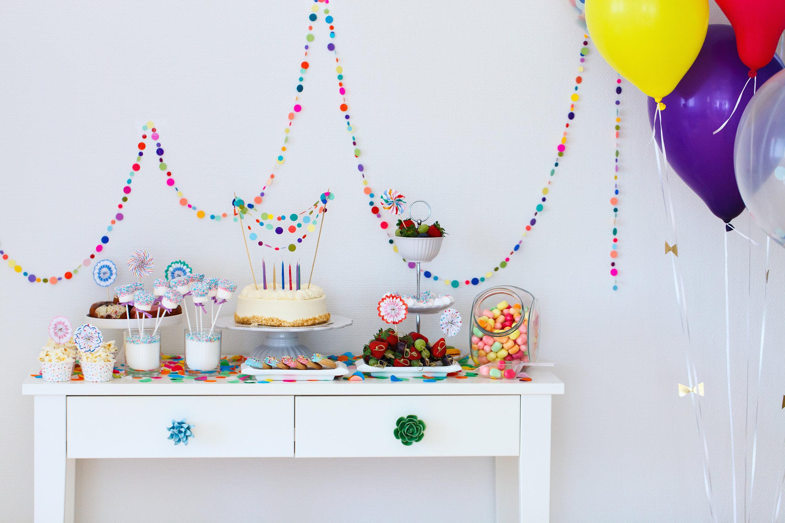 Anniversaire Gâteau Sucreries Gommes Ballons Hubert Cormier Nutritionniste Nutrition