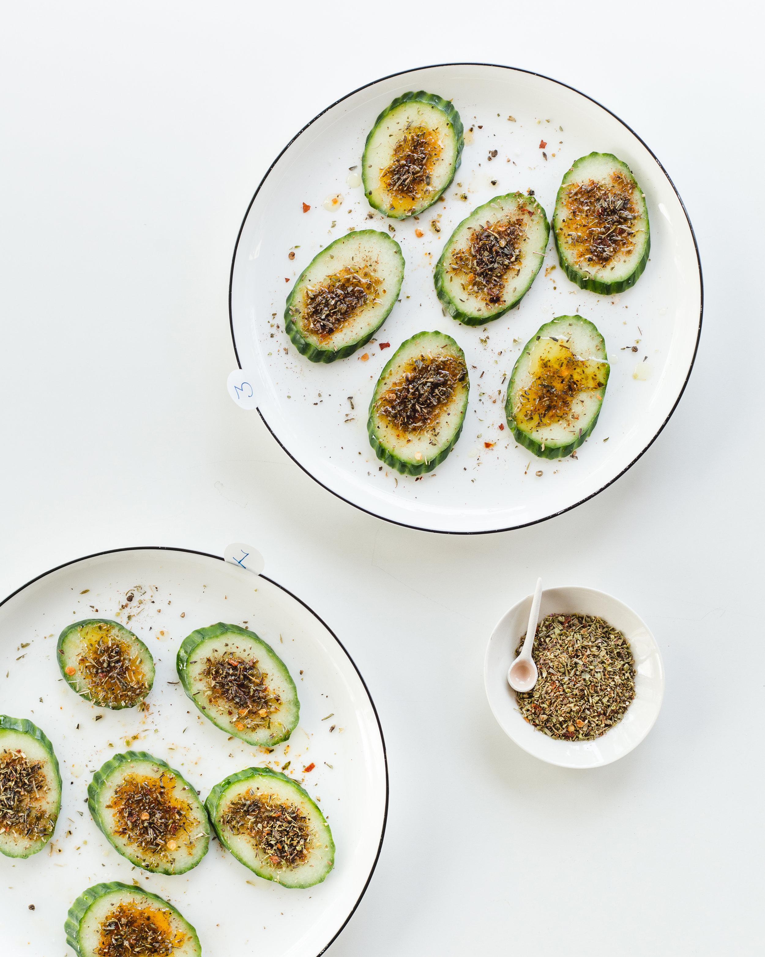 On teste les 3 mélanges d'épices concoctés par Catherine de La pincée Photographie : François Maisonneuve