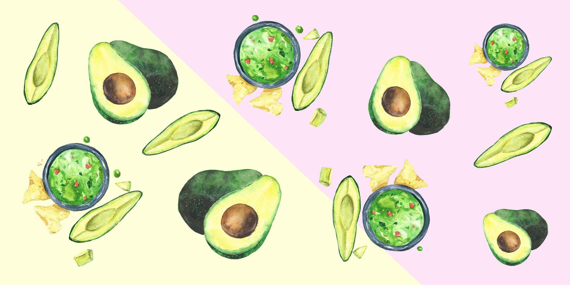 5 trucs pour un guacamole allégé parfait - Je vous propose 5 idées d'aliments à ajouter pour alléger votre guacamole