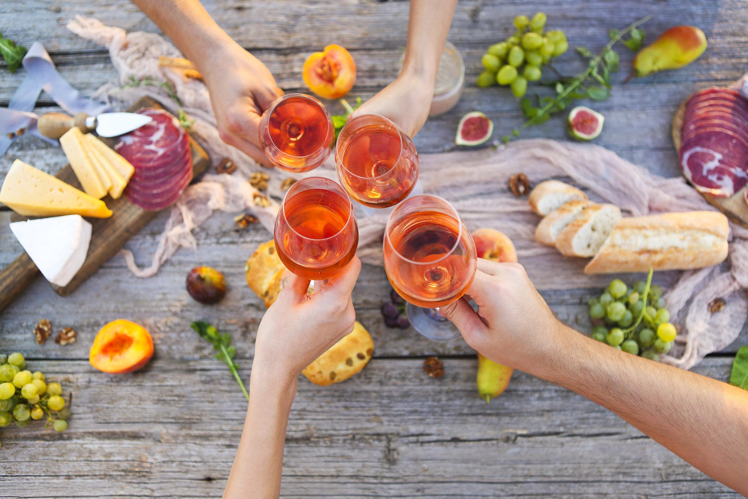 Vin consommation d'alcool nutrition santé