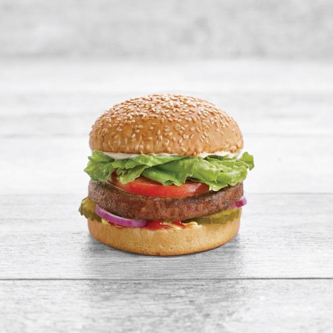 Burger fait de viande végétale  Beyond Meat