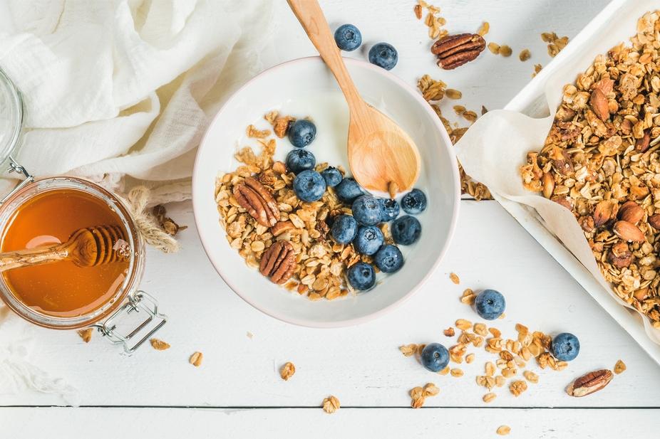 yogourt granola bleuet glycémie diabète
