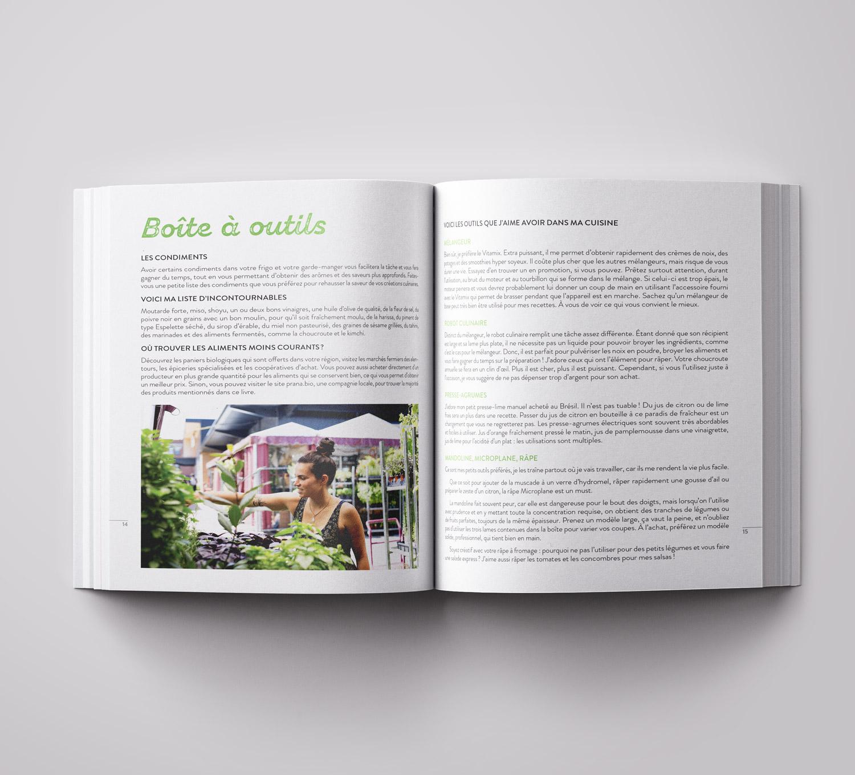 Cuisine botanique végane Stéphanie Audet