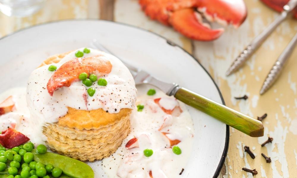 Jetez un coup d'oeil à ma recette de Vol-au-vent au homard -