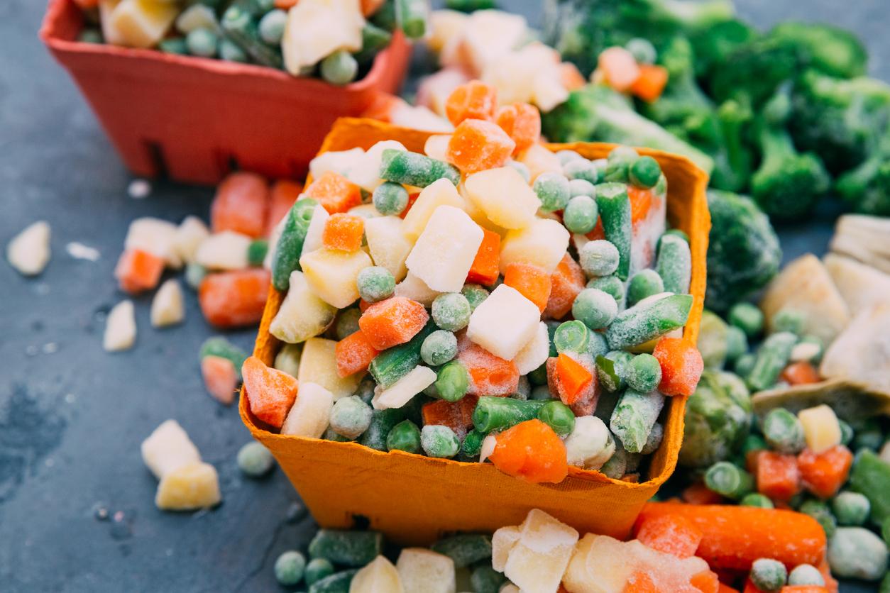 Légumes surgelés bon ou pas pour la santé? Bonduelle Arctic Garden