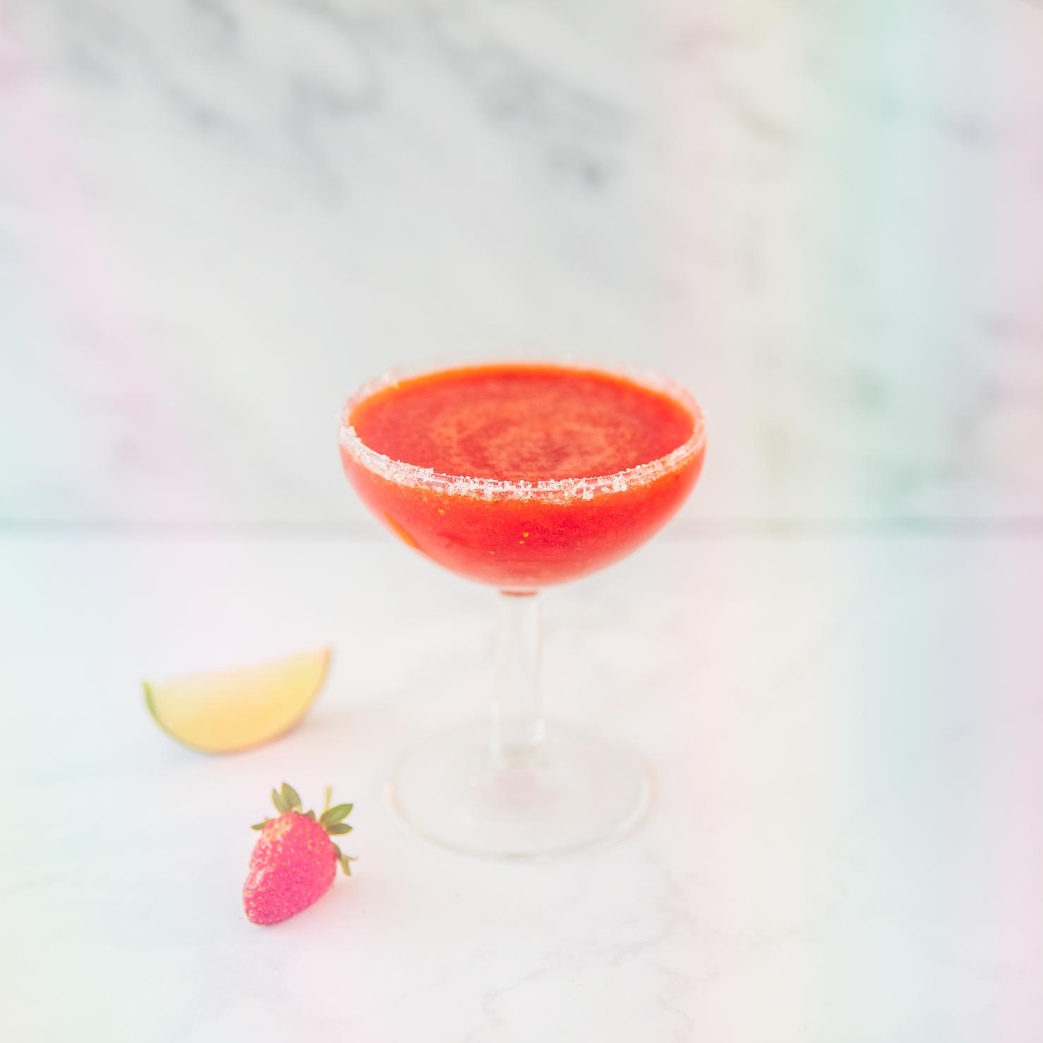 Smoothie margarita aux fraises du Québec
