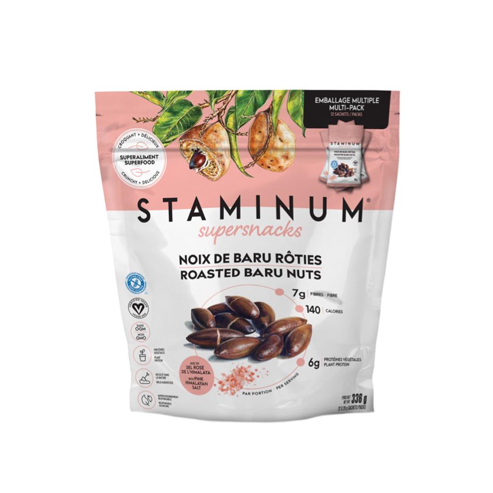 Saviez-vous que la noix de Baru contient par ailleurs moins de matières grasses que les noix. Pour un sachet de 28 g la compagnie Staminum Supersnacks, on retrouve 6 g de protéines, 7 g de fibres et 8 g de lipides, majoritairement insaturés et bons pour le cœur. -