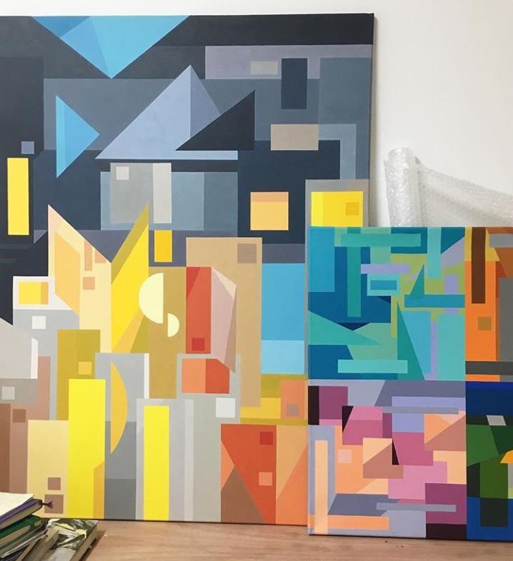 Miami paintings