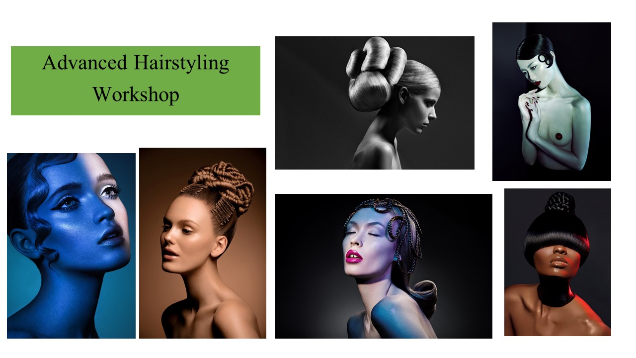 Advanced Hair Styling Workshop October 14th, 2019 - Register today!