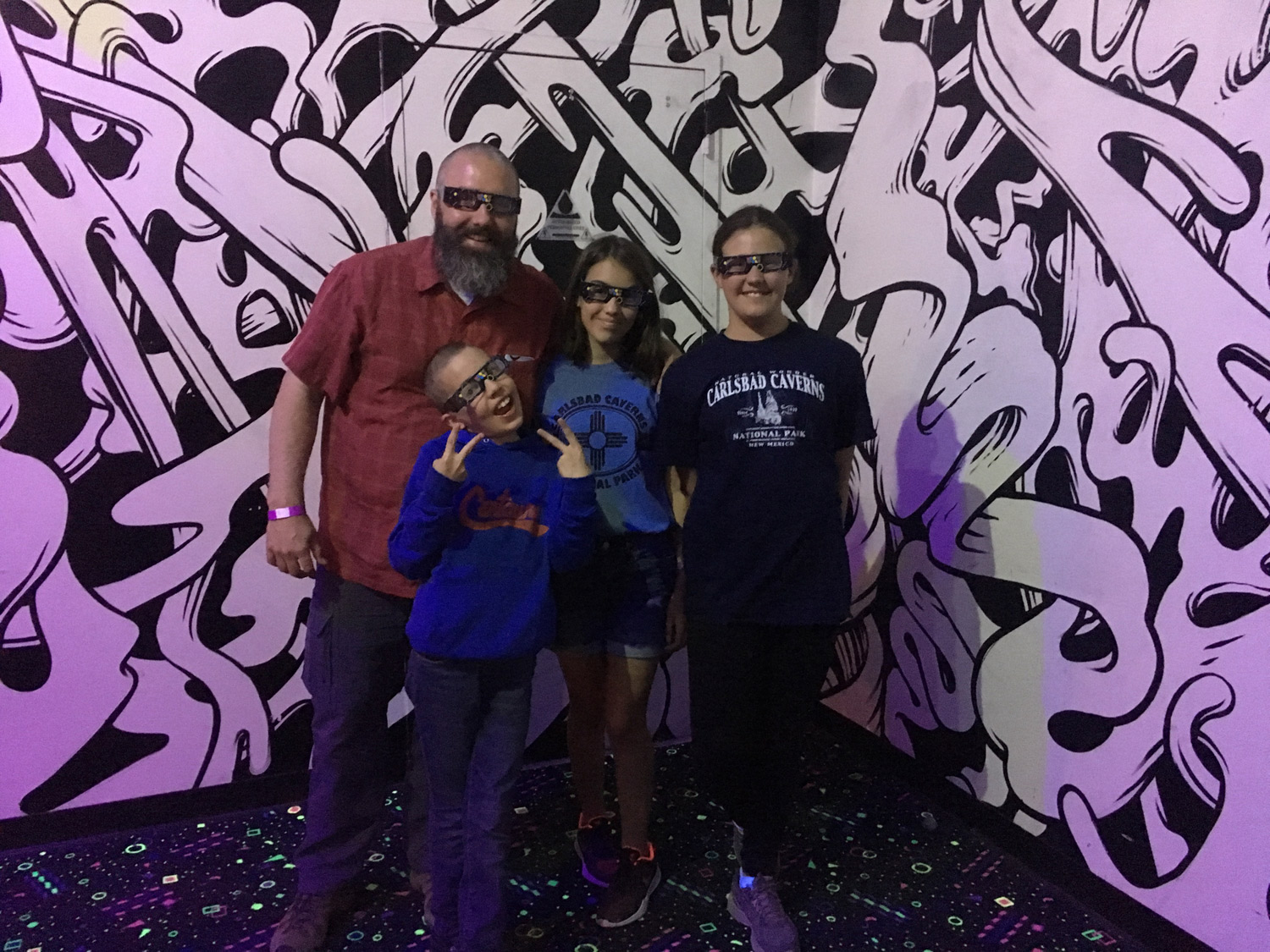 Not sure how to describe Meow Wolf, but it was a favorite stop.