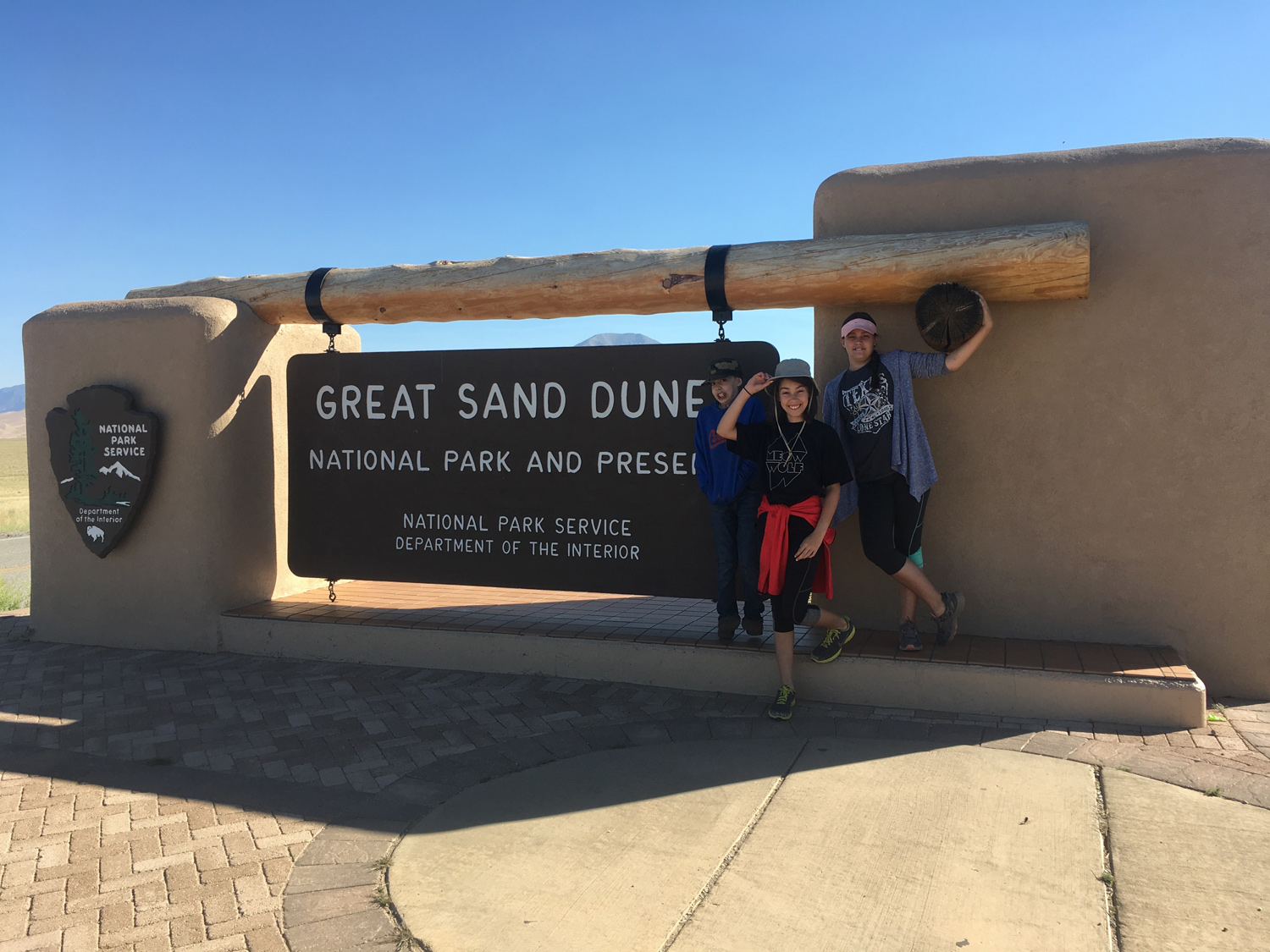 We had a blast climbing the dunes and then sledding back down.