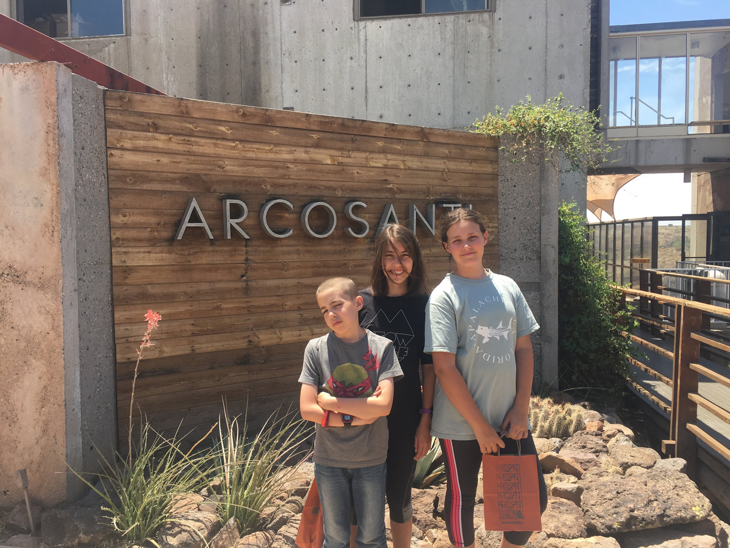 Had fun shopping for unique, handcrafted, bronze windbells made at Arcosanti.
