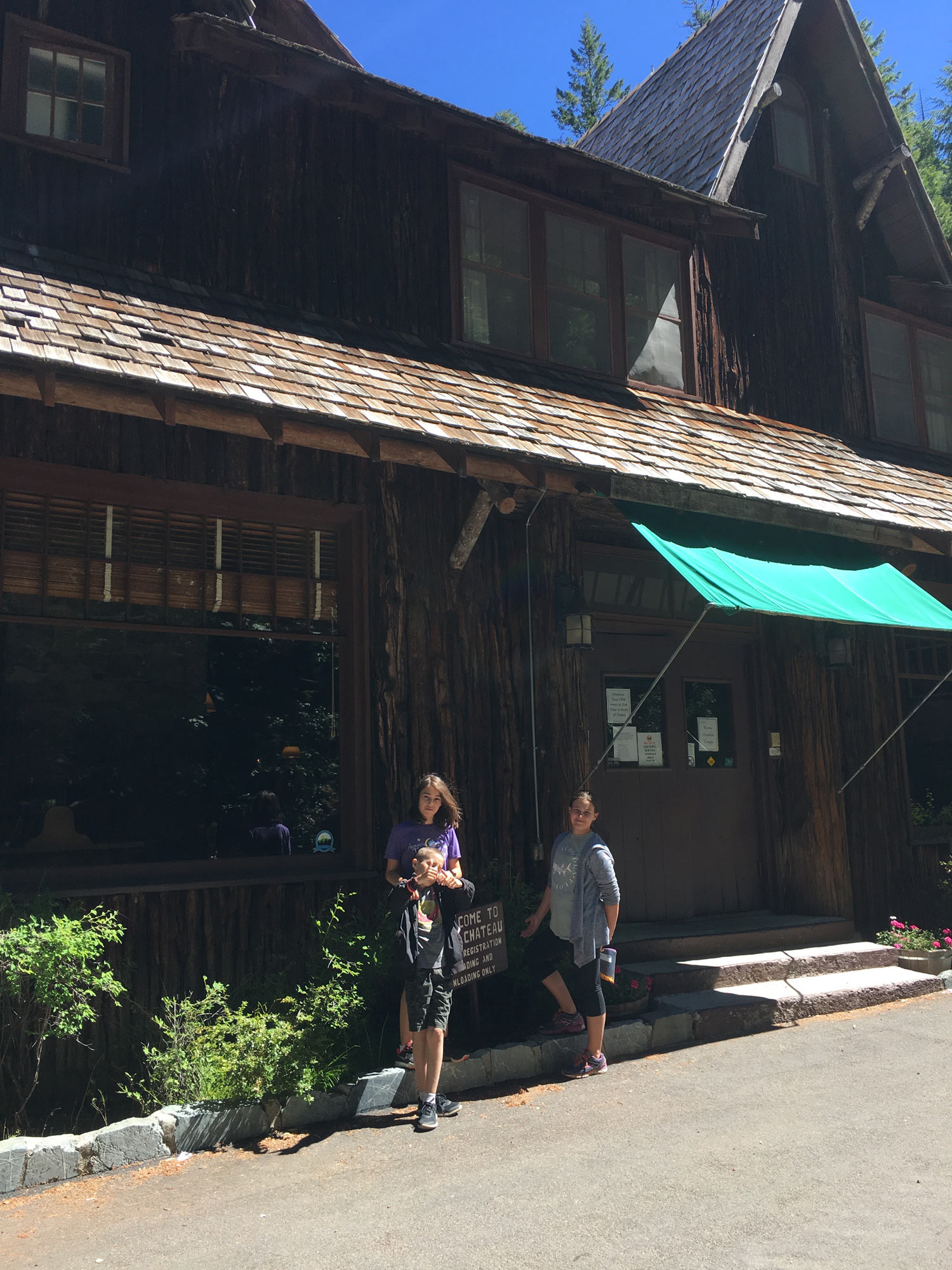 We had a wonderful stay at Oregon Caves Chateau.