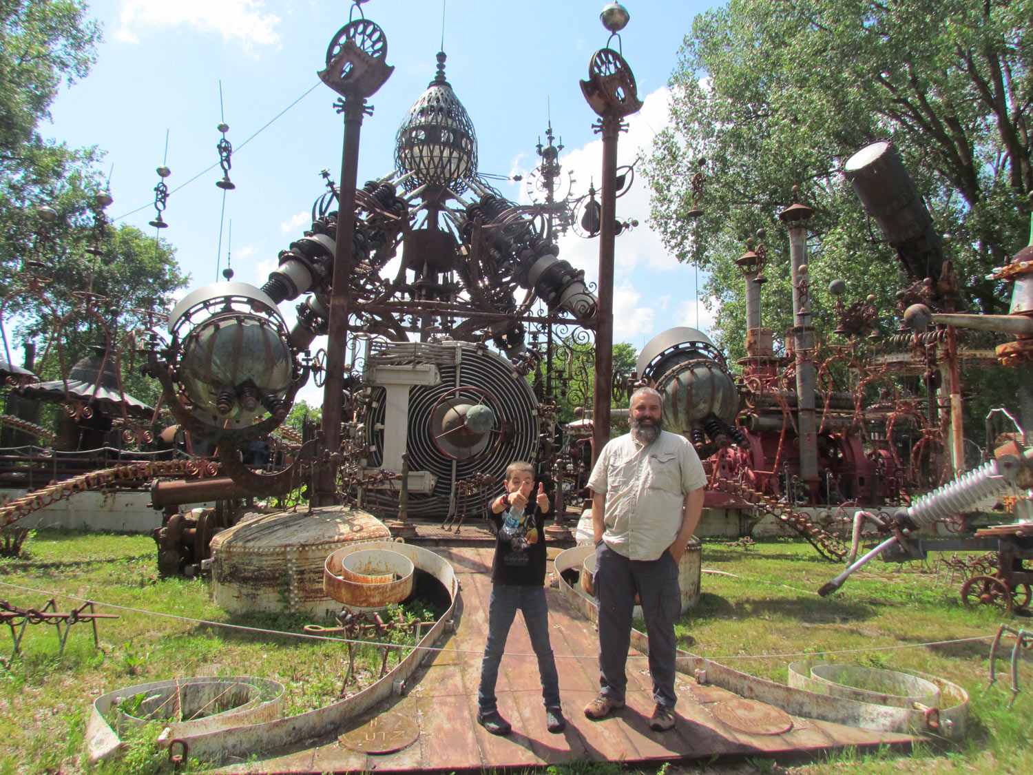 Two thumbs up for Forevertron.