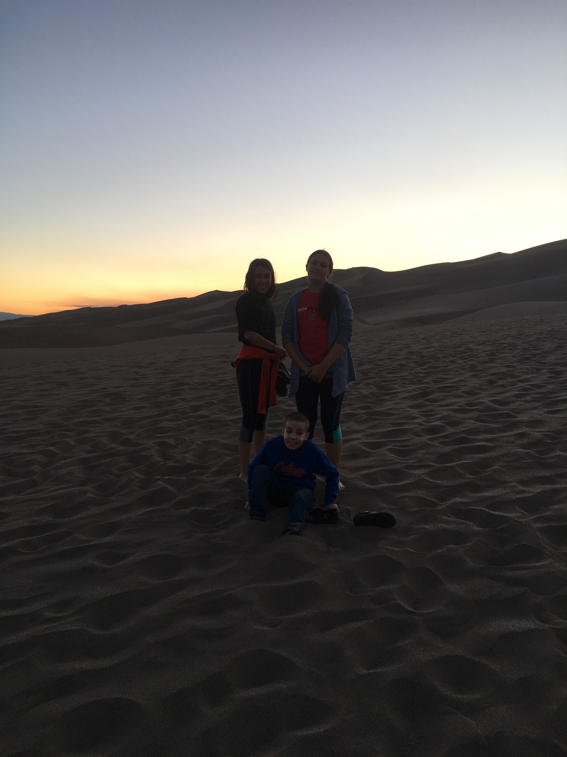 Evenings in June are a great time to explore the dunes. The temperature is very pleasant, and the crowds are very low!