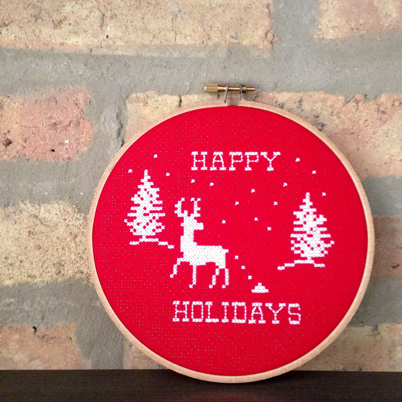 Happy Holidays - Pooping Deer