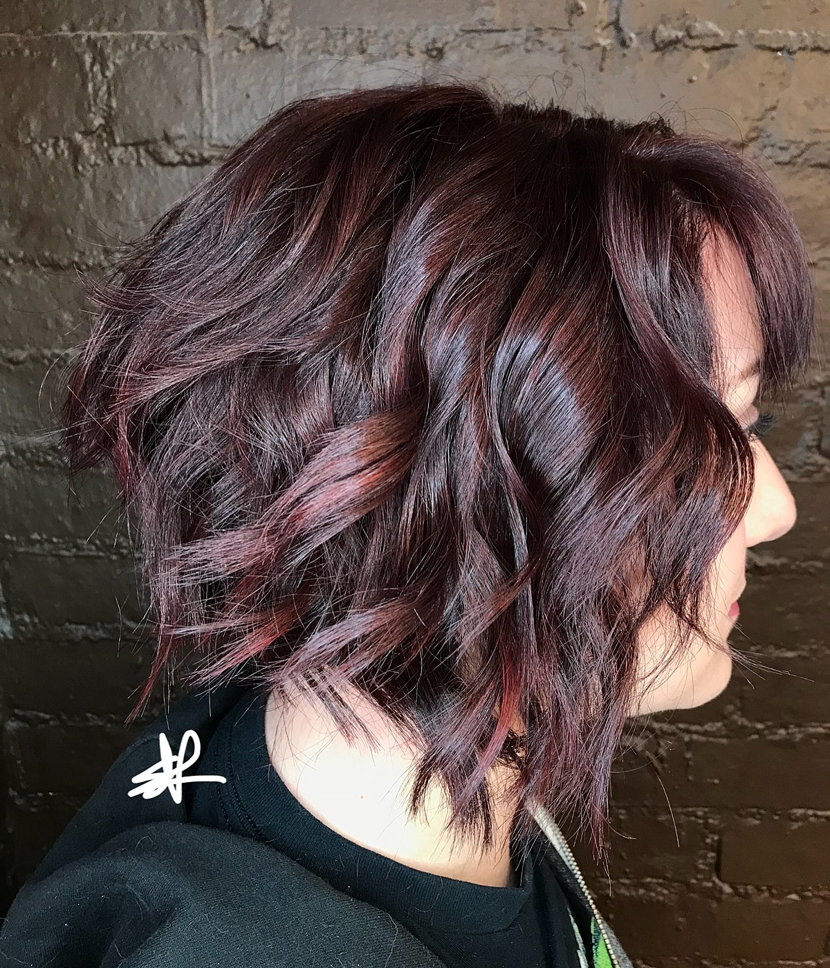 Spicy & Sweet Color & Cut by Elyse